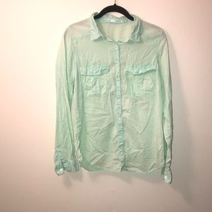 maurices button down blouse size medium
